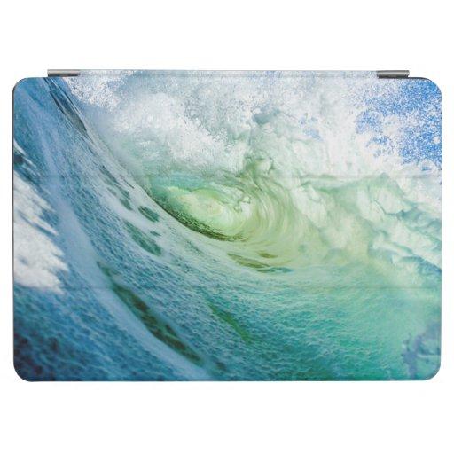 blue sea water watercolor design iPad air cover