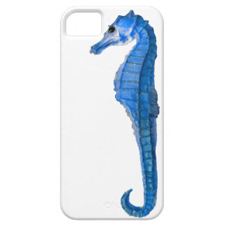 Blue Seahorse iPhone 5 Cover