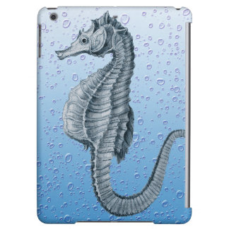 Blue Seahorse iPad Air Case