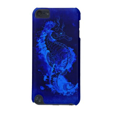 Blue Seahorse Painting iPod Touch 5G Cover