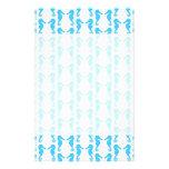 Blue Seahorse Pattern Flyer