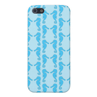 Blue Seahorse Pern iPhone 5 Cover