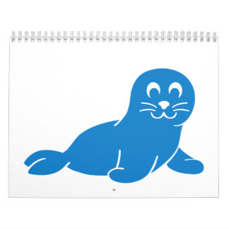 Blue seal calendar
