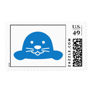 Blue seal head stamps