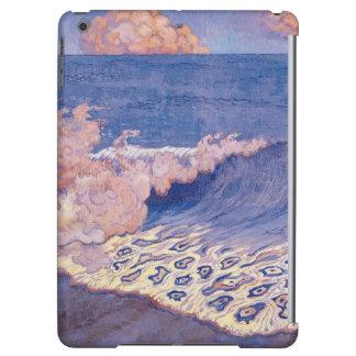 Blue seascape, Wave Effect, c.1893 Case For iPad Air