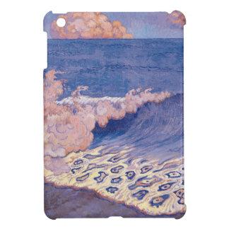 Blue seascape, Wave Effect, c.1893 Case For The iPad Mini