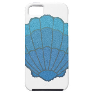 Blue Seashell Mosaic iPhone SE/5/5s Case