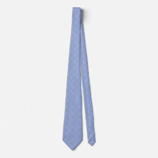 Blue Serenity Patterned Neck Tie