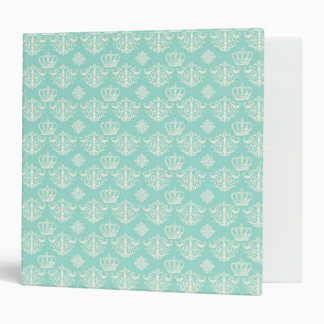 "Blue Shabby Chick EZ-Turn™ Ring Avery Signature 2"" 3 Ring Binder"