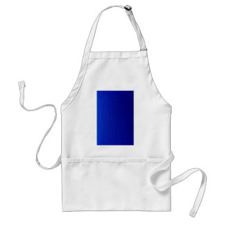 Blue Shaded Stripes Adult Apron