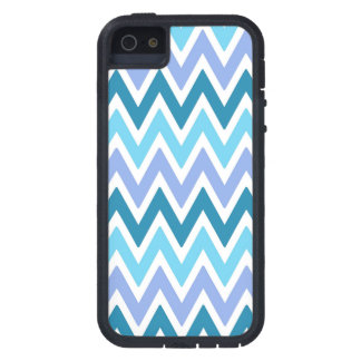 Blue  shades chevrons Iphone 5s case iPhone 5 Covers