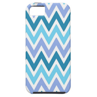 Blue  shades chevrons Iphone 5s case iPhone 5 Cover