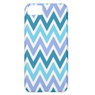 Blue  shades chevrons Iphone 5s case iPhone 5C Case