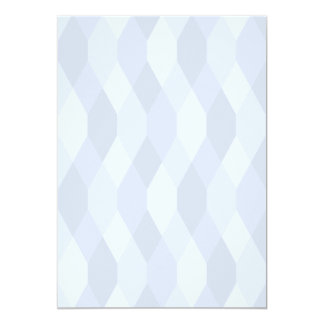 Blue Shades Rhombus And Hexagon Pattern Card