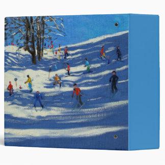 Blue shadows Morzine Binder