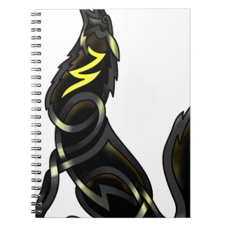 Blue Shadows (The Howling Wolf) Notebook