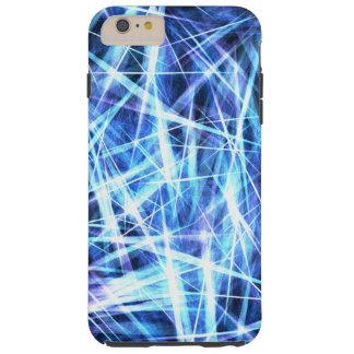 Blue Shards Tough iPhone 6 Plus Case
