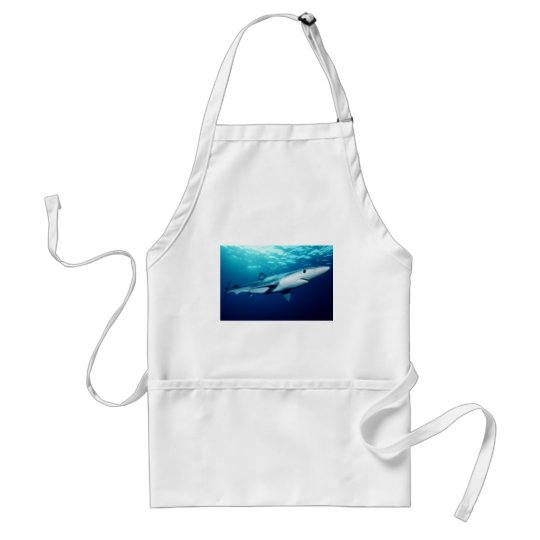 Blue Shark Adult Apron