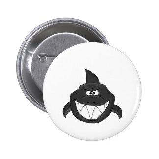 Blue shark button