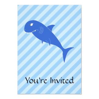 Blue Shark. Card
