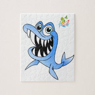 Blue Shark Jigsaw Puzzle