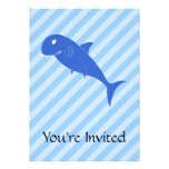 Blue Shark. Personalized Invitations