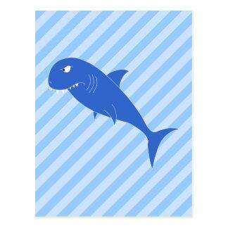 Blue Shark. Postcard