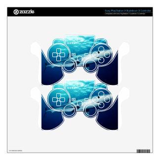 Blue Shark PS3 Controller Skin