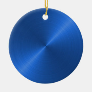 Blue  Sheen Christmas Personalized Ornament