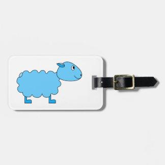 Blue Sheep. Bag Tag