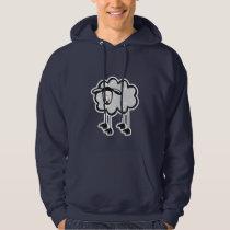 Blue Sheep Hoodie