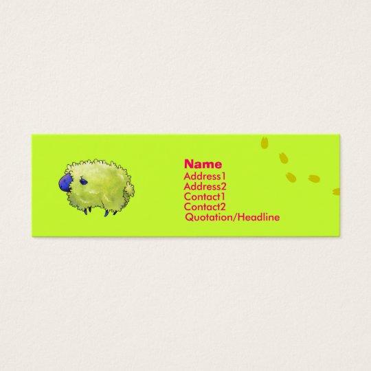 Blue Sheep Profile Card