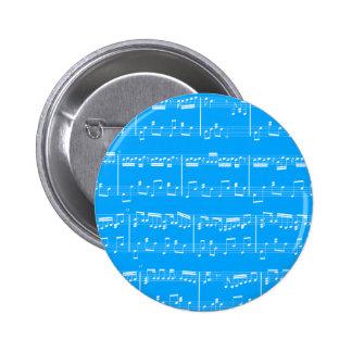 Blue Sheet Music Button