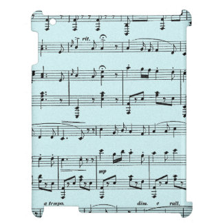 Blue Sheet Music Case For The iPad 2 3 4
