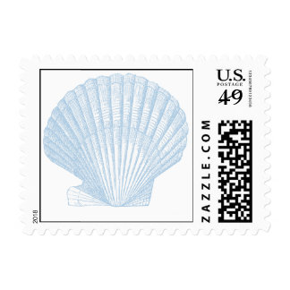 Blue Shell Postage
