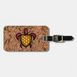 Blue Shell Turtle Luggage Tag