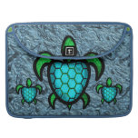 Blue Shell Turtle MacBook Pro Flap Sleeve Sleeve For MacBook Pro