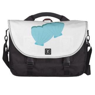 Blue Shellfish Laptop Messenger Bag