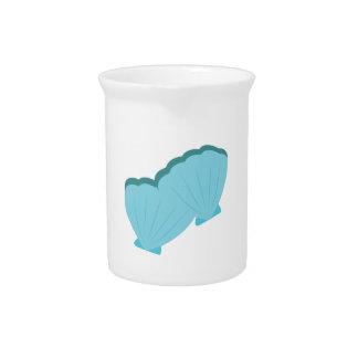 Blue Shellfish Drink Pitcher