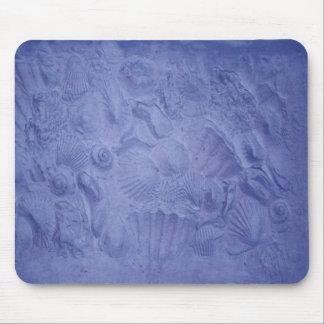 Blue Shells Mouse Pad