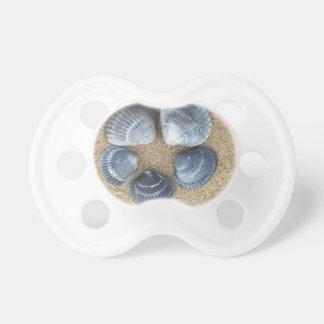 Blue shells pacifier