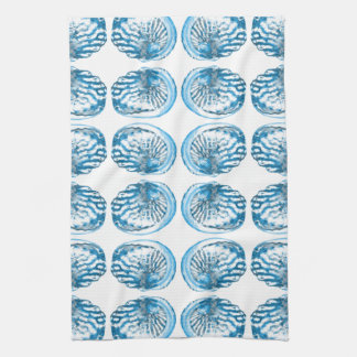 Blue Shells Pattern. Towel
