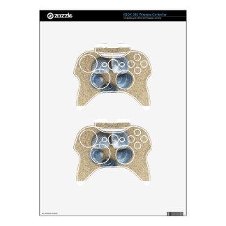 Blue shells xbox 360 controller skin