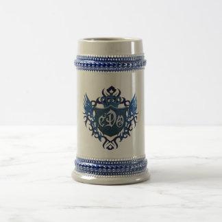 BLUE SHIELD-Beer Stein