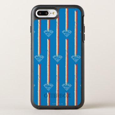 Blue Shield Pattern OtterBox Symmetry iPhone 8 Plus/7 Plus Case