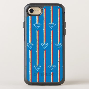 Blue Shield Pattern OtterBox Symmetry iPhone 8/7 Case