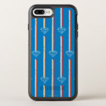 Blue Shield Pattern OtterBox Symmetry iPhone 7 Plus Case