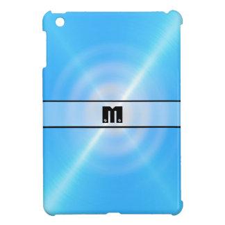 Blue Shiny Stainless Steel Metal 12 iPad Mini Cases