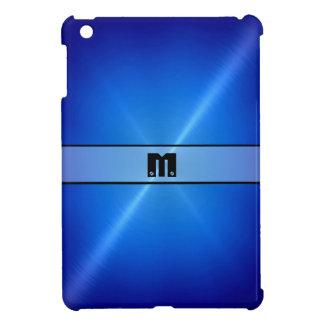 Blue Shiny Stainless Steel Metal 3 iPad Mini Covers