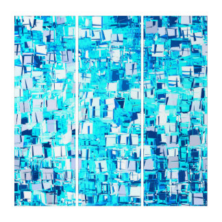 blue shiver triptych